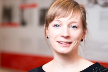 Nadine Erdmann, pädagogische Mitarbeiterin