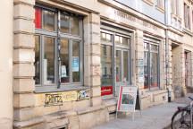 Außenansicht des Ladenlokals in der Kamenzer Straße