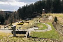 Blick auf die Gedenkstätte Flossenbürg © Magnus Semmelbauer