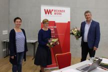 Gründung des Freundeskreis e.V. - Vorstand v.r.n.l. Albrecht Pallas, Susann Rüthrich und Geschäftsführerin Karin Pritzel