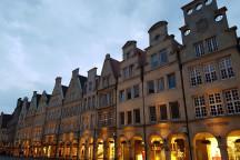 Blick auf den Prinzipalmarkt in Münster.