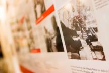 Spannende Einblicke in das Leben Herbert Wehners im Ladenlokal