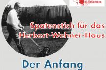 Spatenstich zum Herbert-Wehner-Haus