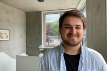 Tim Peterfi - Praktikant im Wehnerwerk